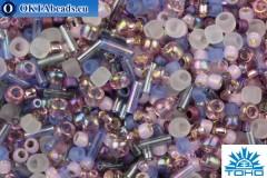 TOHO Beads Mix Kimono- Lilac Mix (3216)