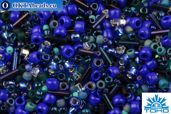 TOHO Beads Mix Mahou- Blue/Green Mix (3224) TX-01-3224