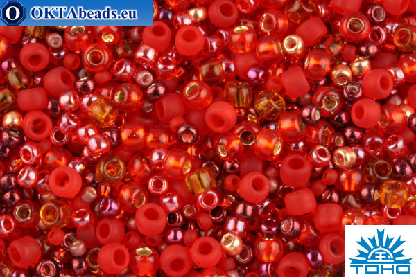 TOHO Beads Mix Momiji - Red(3208) TX-01-3208