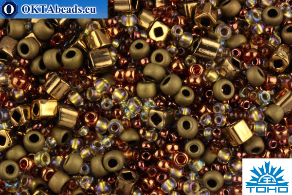 TOHO Beads Mix Ocha - Bronze(3205) TX-01-3205