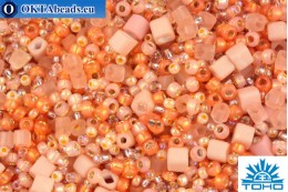TOHO Beads Mix Piichi - Peach(3202) TX-01-3202