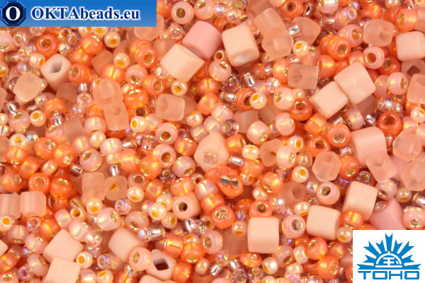 TOHO Beads Mix Piichi - Peach(3202)