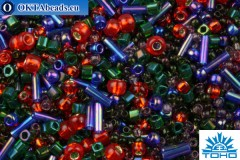 TOHO Beads Mix Shousei- Red/Green/Blue Mix (3226)