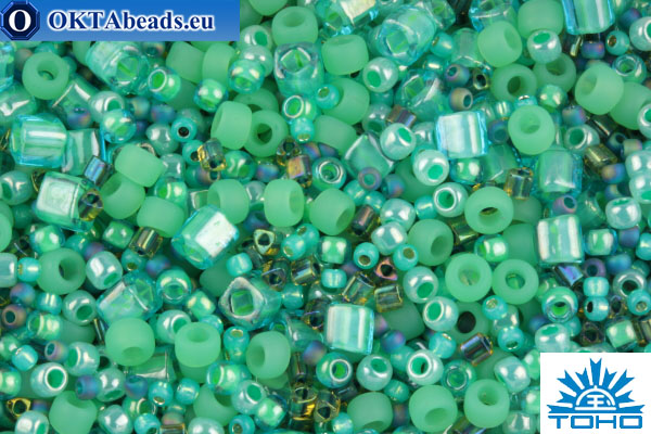 TOHO Beads Mix Take - Seafoam/Green(3203) TX-01-3203
