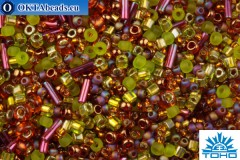 TOHO Beads Mix Ureshii- Olivine/Orange Mix (3227)