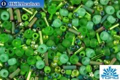 TOHO Beads Mix Wasabi - Green(3221)