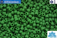 TOHO Beads Opaque-Frosted Pine Green (47HF) 11/0