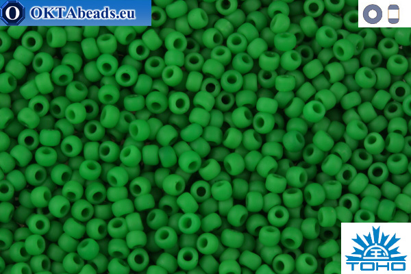TOHO Beads Opaque-Frosted Shamrock (47DF) 11/0 TR-11-47DF