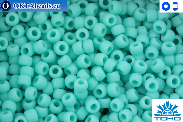 Toho Beads Opaque-Frosted Turquoise (55F) 11/0 TR-11-55F