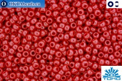 TOHO Beads Opaque-Lustered Cherry (125) 11/0