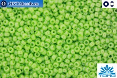 TOHO Beads Opaque-Lustered Sour Apple (131) 11/0