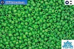 TOHO Beads Opaque-Rainbow Mint Green (407) 11/0