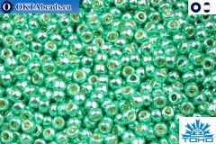 TOHO Beads Permanent Finish - Galvanized Green Teal (PF561) 11/0