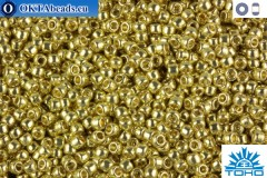 TOHO Beads Permanent Finish - Galvanized Yellow Gold (PF559) 11/0