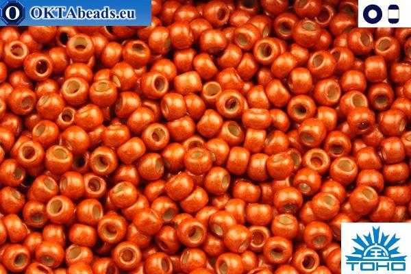 TOHO Beads Permanent Finish - Matte Galvanized Saffron (PF562F) 11/0