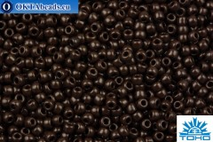 TOHO Beads Round Dark Chocolate Brown Opaque (46D) 11/0