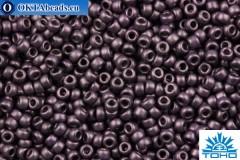 TOHO Beads Round Dark PurpleMetallic Matte (607F) 11/0