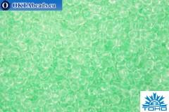 TOHO Beads Round Glow In The Dark - Mint Green/Bright Green (2722) 11/0