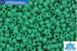 TOHO Beads Round Green Turquoise Opaque (55D) 15/0