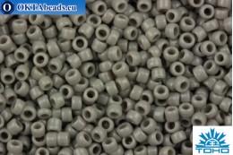 TOHO Beads Round Grey Opaque (53D) 15/0