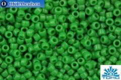 TOHO Beads Round Opaque Jade (47D) 15/0