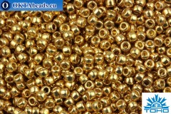 TOHO Beads Round PermaFinish Galvanized Golden Fleece (PF592) 11/0