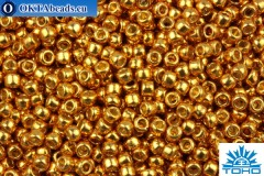 TOHO Beads Round PermaFinish Galvanized Old Gold (PF591) 11/0