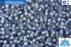 TOHO Beads Silver-Lined Frosted Lt Sapphire (33F) 11/0