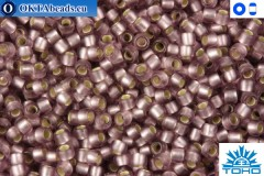 TOHO Beads Silver-Lined Frosted Lt. Amethyst (26F) 11/0
