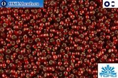 TOHO Beads Silver-Lined Garnet (25D) 11/0