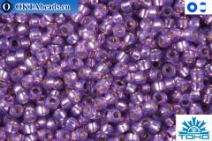 TOHO Beads Silver-Lined Milky Amethyst (2108) 11/0
