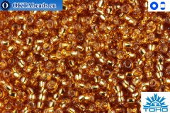 TOHO Beads Silver-Lined Topaz (22C) 15/0