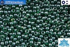 TOHO Beads Trans-Lustered Green Emerald (118) 11/0