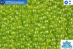 TOHO Beads Trans-Lustered Lime Green (105) 11/0