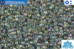 TOHO Beads Trans-Rainbow Black Diamond (176) 15/0