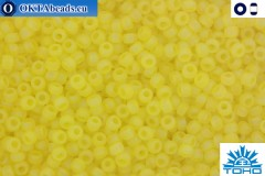 TOHO Beads Trans-Rainbow-Frosted Lemon (175F) 11/0