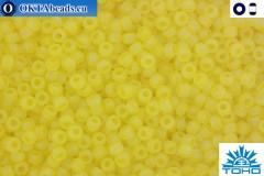 TOHO Beads Trans-Rainbow-Frosted Lemon (175F) 11/0
