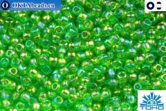 TOHO Beads Trans-Rainbow Peridot (167) 11/0