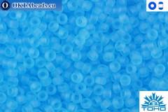 TOHO Beads Transparent-Frosted Aquamarine (3F) 15/0 TR-15-3F