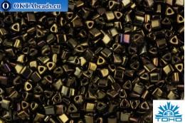 TOHO Beads Triangle Metallic Iris Brown (83) 8/0