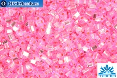 TOHO Beads Triangle Silver-Lined Pink (38) 8/0