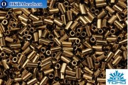 TOHO Bugle Bronze (221) 3mm, 10gr TB-01-221