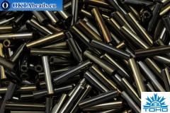TOHO Bugle Metallic Iris Brown (83) 9mm, 10gr