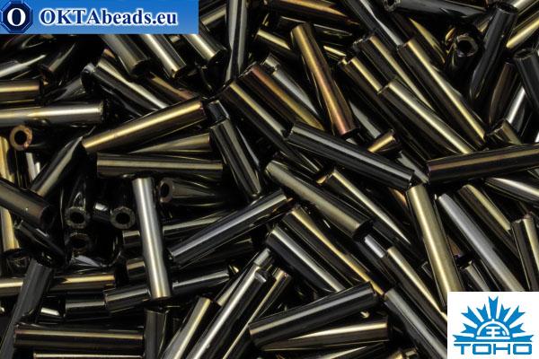 TOHO Bugle Metallic Iris Brown (83) 9mm, 10gr TB-03-83